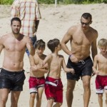 Sheva spent holidays on Barbados with Redknapp and women