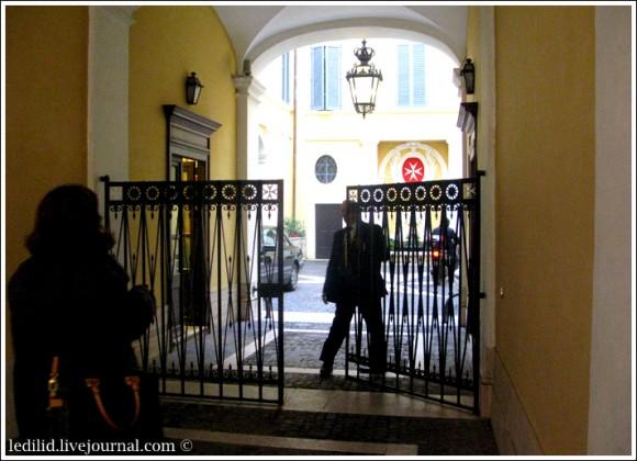 Палаццо Мальта: посторонним вход воспрещен