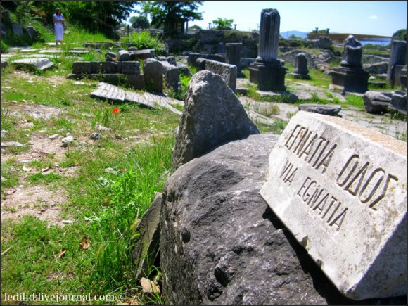 Стародавня дорога Егнатія у Філіппах