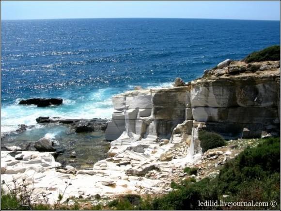 Тасос — відоме з античних часів місце видобування чудового мармуру