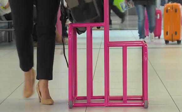 Wizz Air'івські рамки для великої і малої ручної поклажі