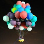 Cluster balloonist lands in Newfoundland in failed attempt to cross Atlantic Ocean. PHOTO