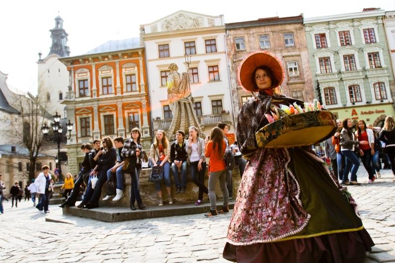 Львів втрачає польського туриста