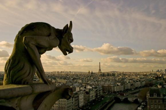 France_Ukraine_Paris_Gargoyle
