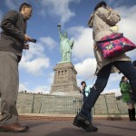 Statue of Liberty, closed by shutdown, reopens to tourists
