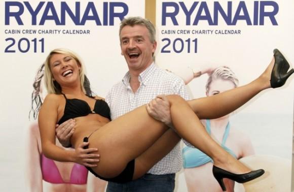 Натхненник оригінальних рішень Ryanair - генеральний куруючий Майкл О'Лірі