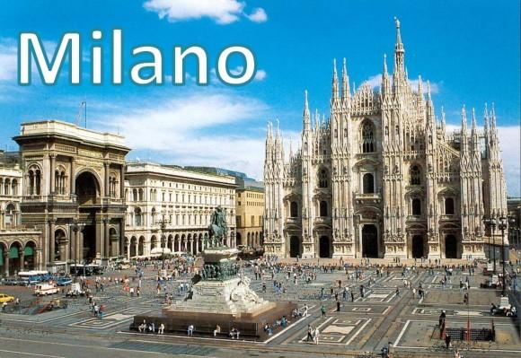 """Мілан - загальновизнана столиця передової Північної Італії, столиця італійської моди з багатьма бутіками, галереями та іншими розпродажами одягу провідних брендів. Тут можна відвідати знаменитий Міланський собор - один із найбільших та найкрасивіших храмів усього католицького світу, а також славнозвісний театр """"Ла Скала"""". Одним сподобається стадіон """"Джузеппе Меацца"""" й фірмові магазини """"Мілана"""" та """"Інтера"""", а іншим - історичний Замок Сфорца, за прикладом якого збудували Московський кремль."""