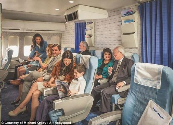 Во времена Pan Am пространство для ног в самолетах было не то, что сейчас ...