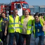 """Співробітники аеропорту """"Жуляни"""" прийняли Ice Bucket Challenge, пожертвувавши гроші на АТО"""