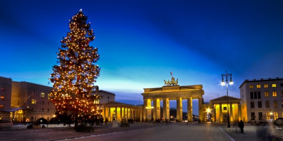 Berlin Christmas tree