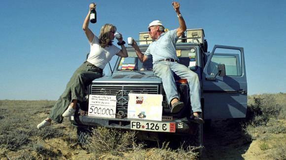 Так пара святкувала 500 000 кілометрів у дорозі