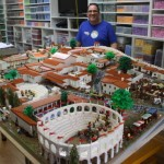 World largest Lego version of Pompeii ever