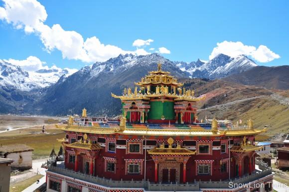 Буддистський монастир в Тибеті