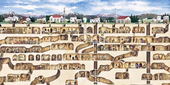 подземного города