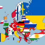 Largest foreign-born nationality living in each european country