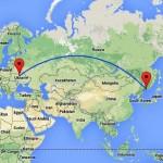 Київ-Владивосток: на інший бік Землі й назад – за 235 євро. Зелений Клин, Китай, Корея, Японія!