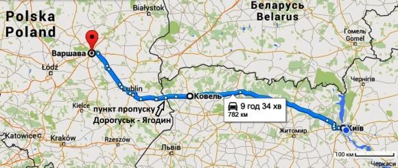 Kyiv-Warsaw