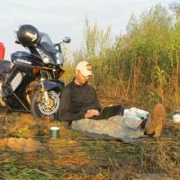 Український мотомандрівник помер у Єгипті, закінчуючи подорож навколо Африки
