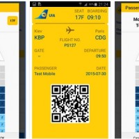 UIA launched a mobile app for online check-in with a choice of seats
